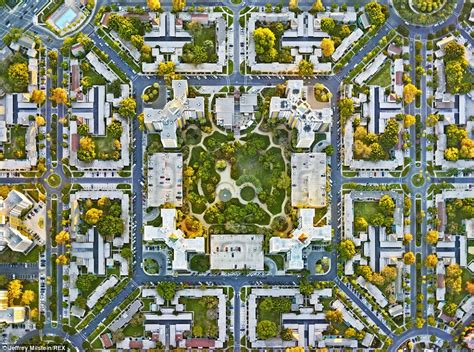 grid pattern urban planning gods eye view stunning aerial photographs reveal the man
