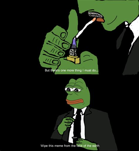 wipe  meme   face   earth pepe  frog