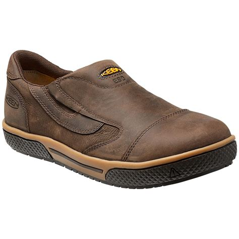 mens keen slippers keen destin steel toe static dissipative slip on k1012774