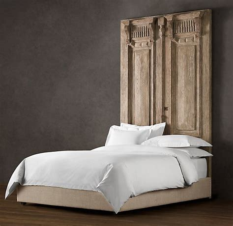 Door Bed Headboard by Carved Door Headboard