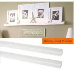 ikea ledge shelf 2 new ikea ribba ledge picture photo display shelf white modern art shelves ebay