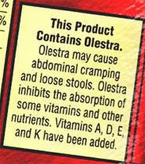 Top Nutrition Bars Top 15 Food Additives Series 11 Olestra