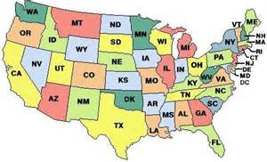 us map with abbreviations list of us state abbreviations breeds picture
