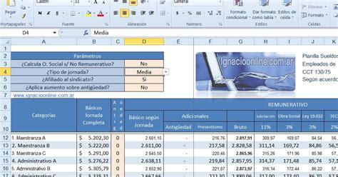 planilla sueldos excel 2015 autos post ignacio online planilla excel sueldos de empleados de