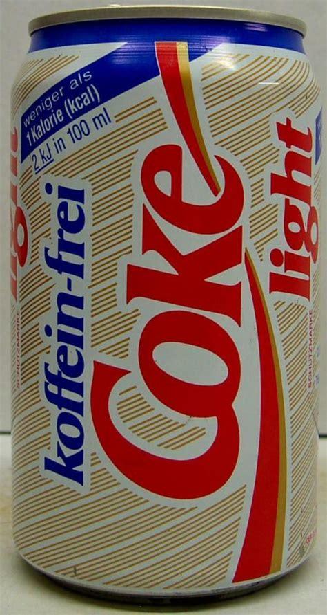 Coca Cola Diet Can 330ml coca cola cola caffeine free diet 330ml germany