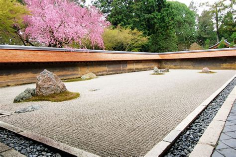 Ryoanji Rock Garden The Most Beautiful Historic Gardens To Visit Around The World Photos Architectural Digest
