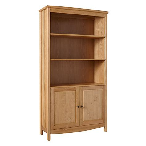 buy john lewis burford bookcase with 2 doors john lewis