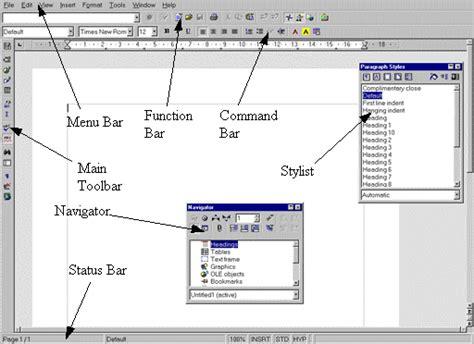 Writerscreenshotgif Features Of Openoffice Writer Dtk Templates Open Office Menu Template