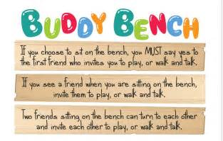 buddy bench for schools buddy bench mix106 3 canberra s best mix from the 80 s