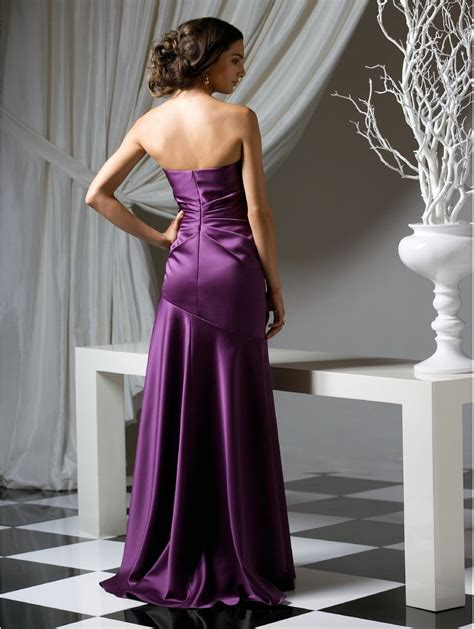 Bridesmaid Dresses Uk Only - dessy 2749 fitted to the hip dress violet dessy