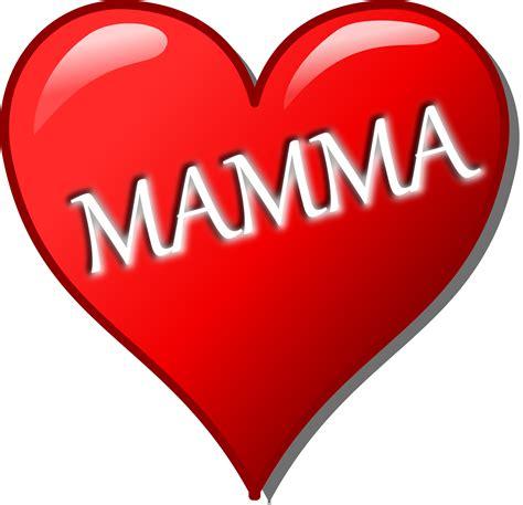 festa mamma clipart cuore per la festa della mamma