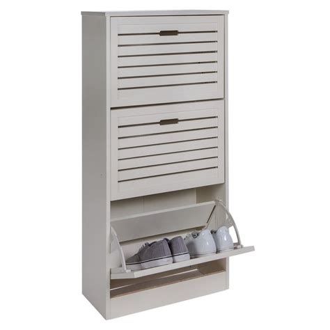 shoe bench argos buy home hereford shoe storage cabinet white at argos co