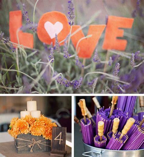 73 Best Wedding Purple Orange Images On Pinterest Purple And Orange Centerpieces For Weddings