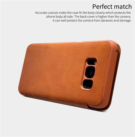 Nillkin Burt Leather Samsung Galaxy S8 Plus Original nillkin qin series leather for samsung galaxy s8 plus s8