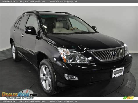 light gray lexus 2008 lexus rx 350 awd black onyx light gray photo 7