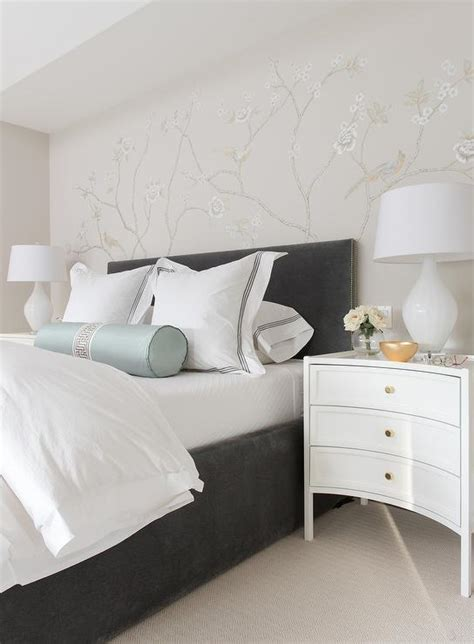 bedroom kid bedding and white headboard with nightstand curved gray headboard design decor photos pictures