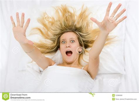 what makes a girl good in bed girl wide awake royalty free stock image image 12395606