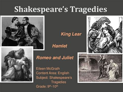 Shakespeare S Tragic In Macbeth by Shakespeare S Tragedies