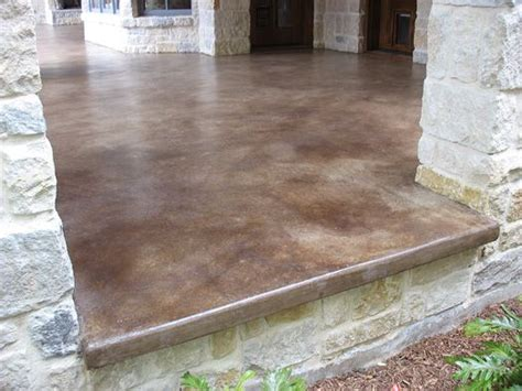 Concrete Patio Stain Colors - stained concrete patio the lasting one pickndecor