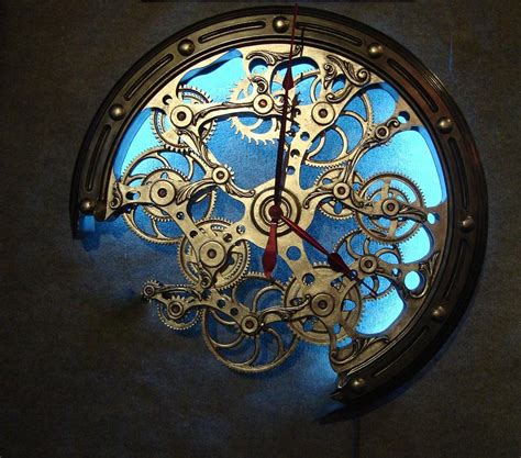 clock work photograph by janice bennett