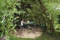 Construire Une Cabane En Saule  La Salamandre