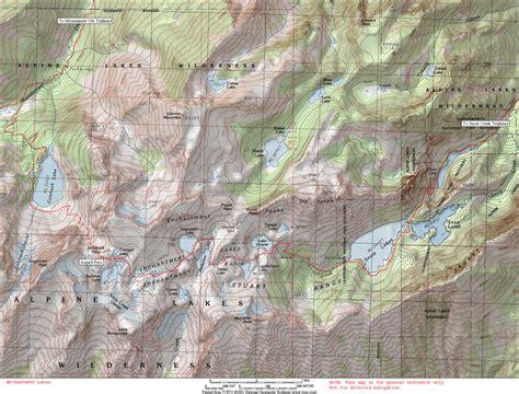 enchantments trail map cannon mountain