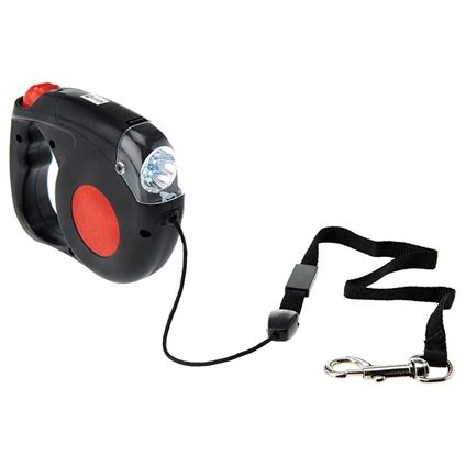 leash with light retractable pet leash with light innovations
