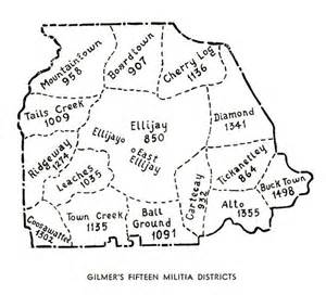 map of gilmer gagenweb gilmer county