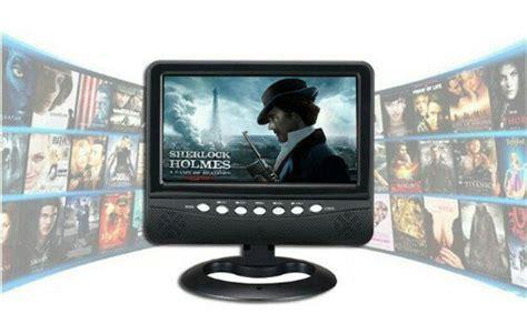 Tv Datar jual portabel mini tv layar datar plus media