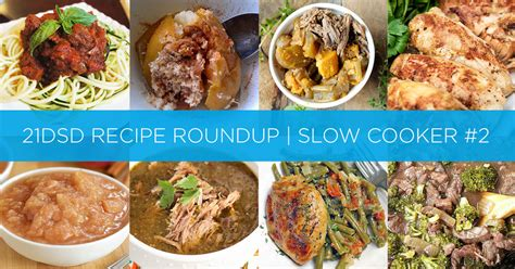Sugar Detox Crockpot Recipes by 21dsd Recipe Roundup Cooker 2 The 21 Day Sugar