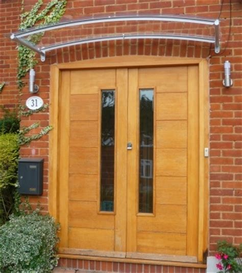 modern front door canopy arched contemporary door canopy porch canopy