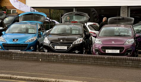 peugeot used car values used car values on the rise in defiance of market