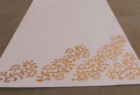 embossed writing paper gold embossed writing paper set oakbazaar