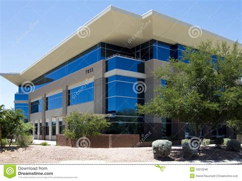 building exterior new modern corporate office building exterior stock photo