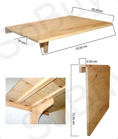 Diy Wall Mounted Folding Table by 25 Best Ideas About Wall Tables On Wall