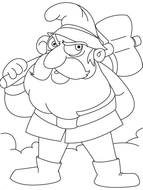 gnome coloring pages gnome coloring pages coloring home
