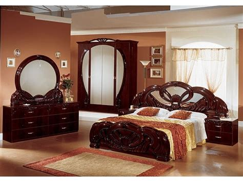 italian bedroom sets stylish italian mahogany high gloss bedroom furniture