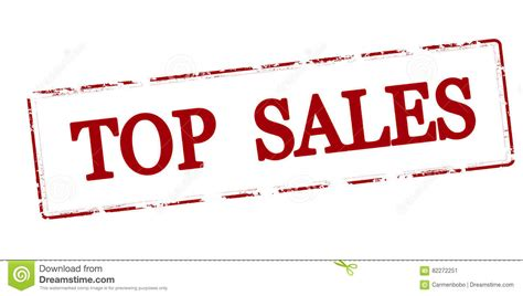 top sales stock vector illustration of concept sale