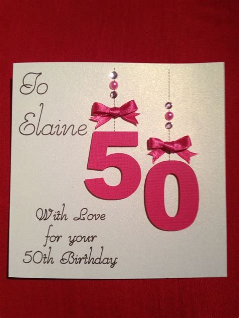 50th Birthday Cards 17 Best Images About 50th Birthday Cards On Pinterest