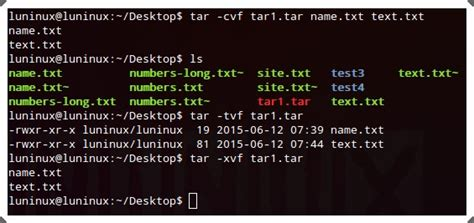tutorial linux tar 29 linux commands you must know hongkiat
