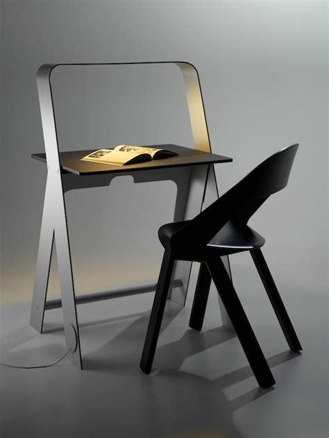 how to design a desk a self illuminating desk by torafu architects ignant com