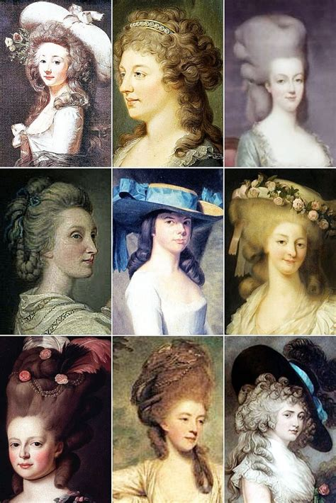 18th century black smith hair 18th century woman s hairstyles a collection of 18th