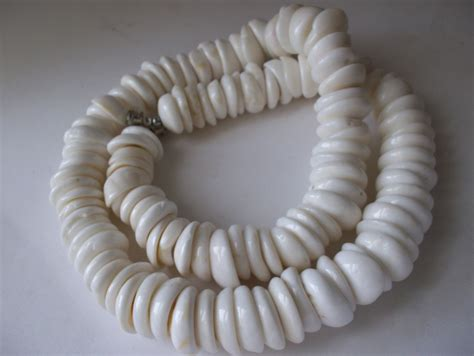 puka shell reserved der large hawaiian puka shell necklace vintage