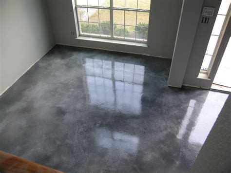 gray brown stained concrete floors grey concrete stain after grey concrete paint in