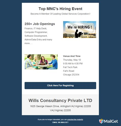 hiring email template 10 best free recruitment email templates mailget