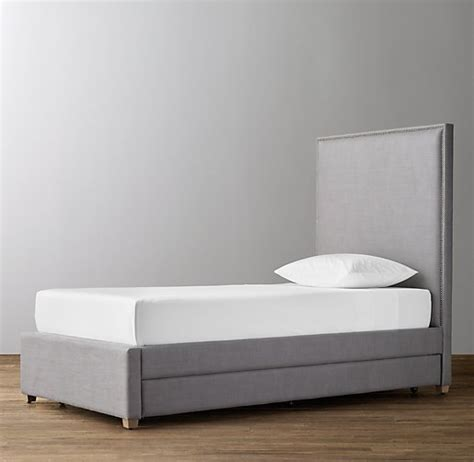 upholstered trundle bed sydney upholstered bed with trundle
