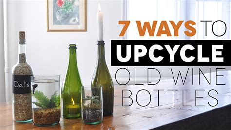 7 awesome ways to upcycle old wine bottles youtube