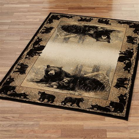 rugs with bears time to play rugs
