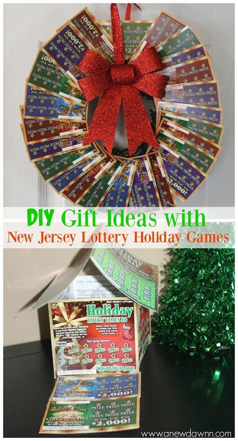 jersey lottery holiday games diy gift ideas   dawnn