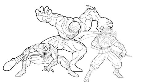 venom coloring pages printable free printable venom coloring pages for kids